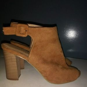 Shoes - Madden girl brown suede shoes size 7.5
